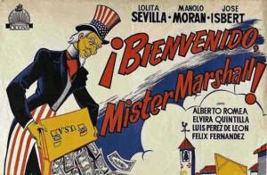 "Cartell de la pel·lícula ""Bienvenido Mr. Marshall""."