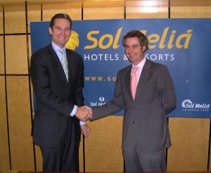 Quins temps aquells! Iñaki Urdangarín i Sebastián Escarrer.