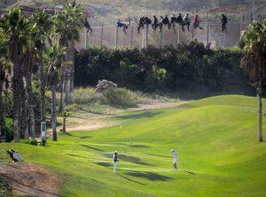 A la tanca de Melilla es poden veure part de les contradiccions del capitalisme mundial.