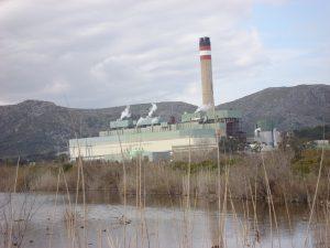 La central tèrmica d'Es Murterar és la infraestructura més contaminant. Cándido García.