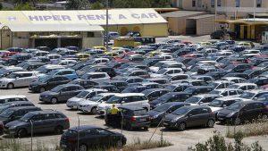 El parc de vehicles de lloguer a Balears ascendeix a 70.000 durant el juliol i l'agost.